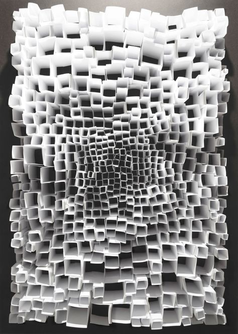 paper sculpture Six Contemporary Photographers on Paper as a Source of Inspiration Mode Collage, Instalation Art, Paper Architecture, Sustainable Architecture, Abstract Paper, Fractal, Contemporary Photographers, Source Of Inspiration, Graffiti Art