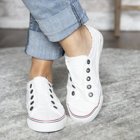 4b6a0f72081c4 Women Canvas Casual Flats Shoes Vintage Sneaker Loafers in 2019 ...
