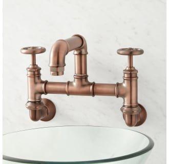Signature Hardware 940841 Build Com In 2020 Bridge Bathroom Faucet Bathroom Faucets Wall Mount Faucet Bathroom
