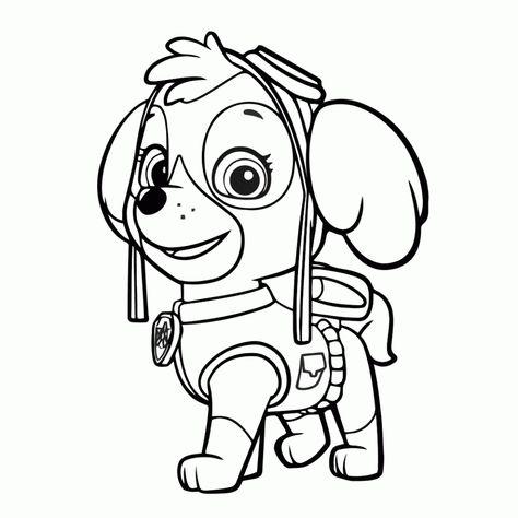 Dibujos Para Colorear De La Patrulla Canina Colorear Patrulla