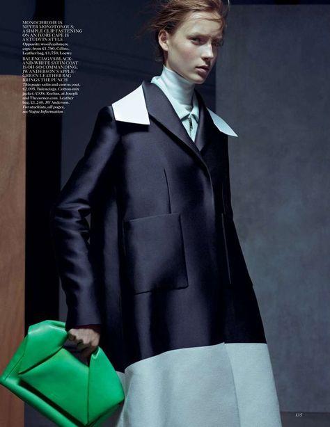 Be Precise Vogue UK January 2015