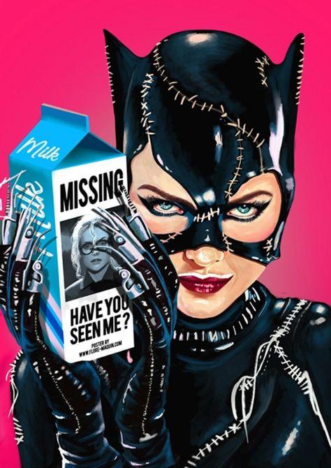 "the-catwoman: ""Flore Maquin "" DC Comics - Catwoman - Selina Kyle Catwoman Cosplay, Batman Et Catwoman, Cosplay Gatúbela, Batman Art, Batman Poster, Kids Batman, Batman Stuff, Hq Marvel, Marvel Dc Comics"