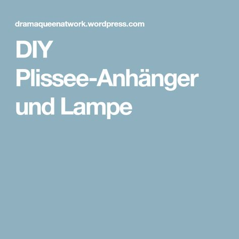 Plissee Anhänger House Doctor