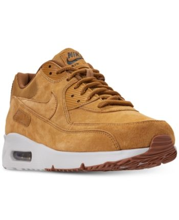 7e94aec4000 Nike Men s Air Max 90 Ultra 2.0 Leather Casual Sneakers from Finish Line -  Yellow 11.5