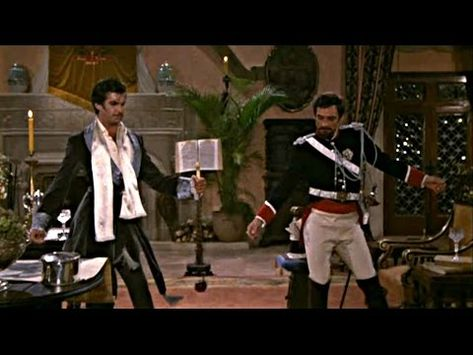 "Funny scene from: ""Zorro, The Gay Blade"" (1981)  (George Hamilton, Ron Leibman)"