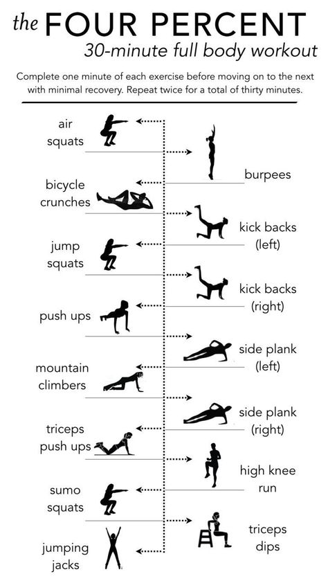 whole-body workout The four percent body 30 Minute Cardio Workout, Sixpack Workout, Whole Body Workouts, Full Body Workout At Home, Hiit Workout At Home, Treadmill Workouts, Cardio Hiit, Workout Schedule, Boxing Workout