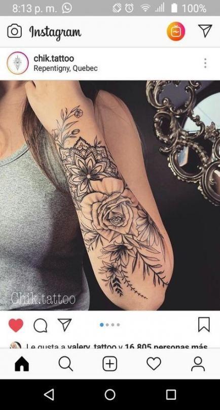 tattoo unterarm frau