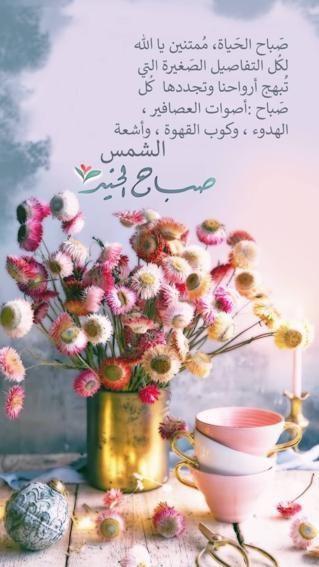 صباح الخير Good Morning Images Flowers Beautiful Morning Messages Good Morning Beautiful Flowers
