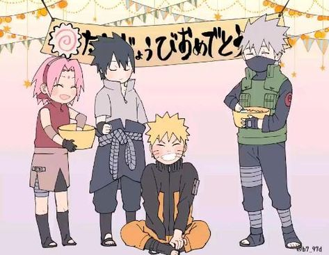 Happy Birthday Naruto Uzumaki • Naruto Shippuden • Boruto: Naruto Next Generations