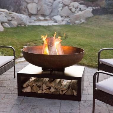 These Super Easy Fire Pit Ideas Are Getting Us Pumepd For Summer 11 Best Outdoor Fire Pit Ideas To D In 2020 Outdoor Fire Pit Outdoor Fire Pit Designs Easy Fire Pit
