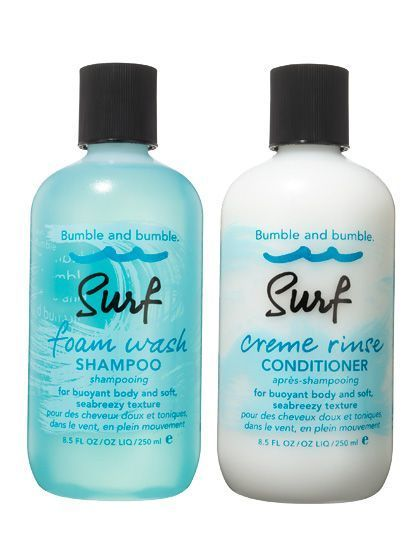 Bumble And Bumble Surf Foam Wash Shampoo Surf Creme Rinse Conditioner Surfhair Shampoo Body Skin Care Quality Skin Care Products
