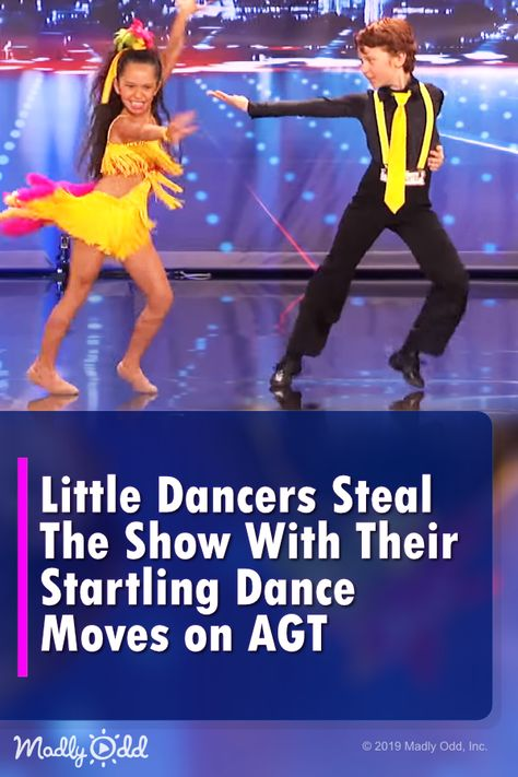 Little Dancers Steal The Show With Dazzling Routine Far Beyond Their Years