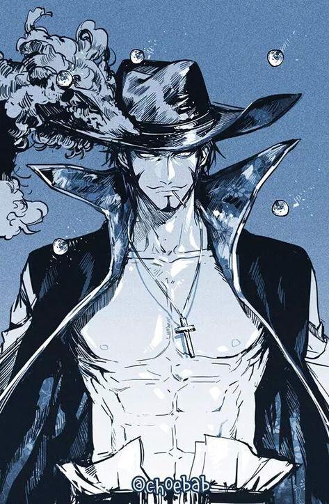 Dracule Mihawk Hawkeye One Piece | Hawkeye one piece, One ...