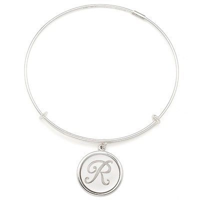 ALEX & ANI STERLING SILVER INITIAL R BRACELET $148 NEW VALENTINES DAY WIFE GIFT - http://designerjewelrygalleria.com/alex-ani/alex-ani-sterling-silver-initial-r-bracelet-148-new-valentines-day-wife-gift-2/