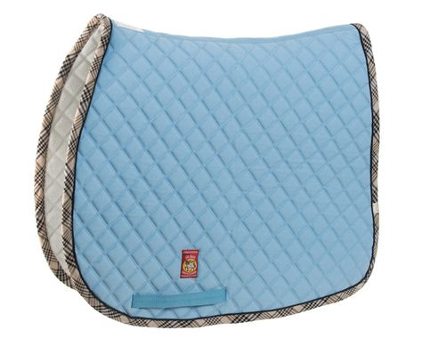 The Lettia Baby Blue Saddle Pad I M In Love Saddle Pads Equestrian Horse Riding School