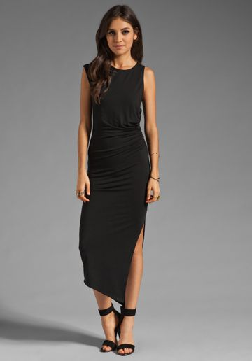 Kaliko kate lace maxi dress black