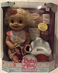 Baby Alive Learns To Potty Baby Alive Baby Alive Magical Scoops Baby Doll Accessories