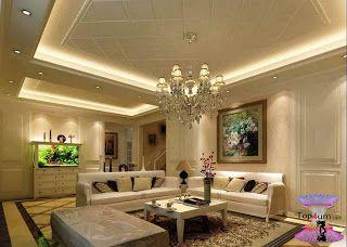 افضل ديكورات جبس اسقف راقيه 2019 Modern Gypsum Board For Walls And Ceilings Ceiling Design Living Room Ceiling Design Bedroom False Ceiling Living Room