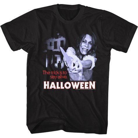 Halloween-Stayin Alive-Black Adult S/S Tshirt - 3XLT / BLACK
