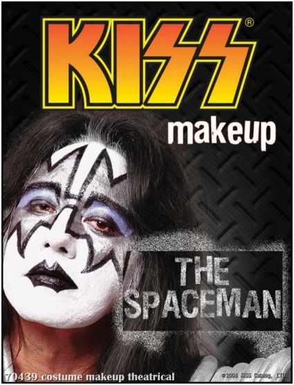 Kiss Spaceman Makeup Kit Description Enter The World Of Hard