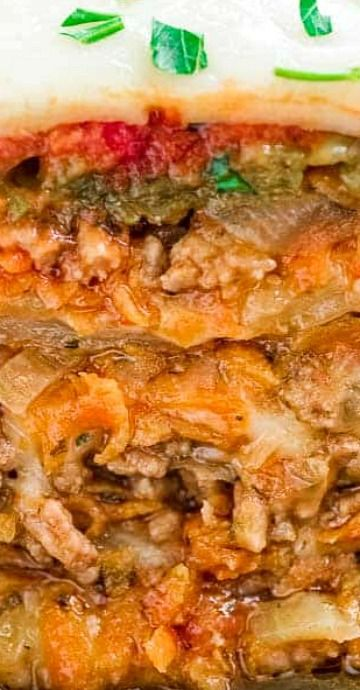Cabbage Lasagna Recipe & Video