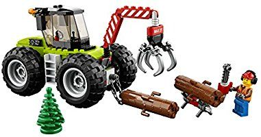 best authentic cdc81 d3a56 Lego City - Great Vehicles Trattore Forestale, Multicolore ...