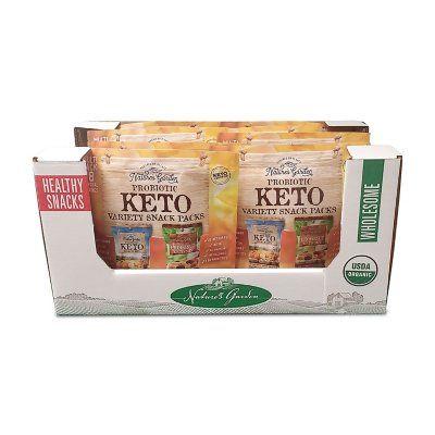 Nature S Garden Probiotic Keto Trail Mix Variety Pack 18 Oz Sam S Club Trail Mix Keto Probiotic Snacks