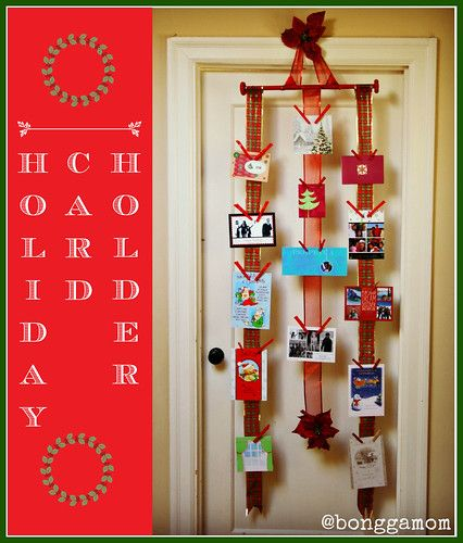 Ribbon Card Holder Ribbon Cards Holiday Holiday Cards