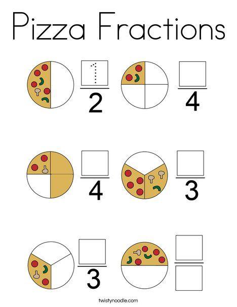 40++ Pizza fractions worksheet Information