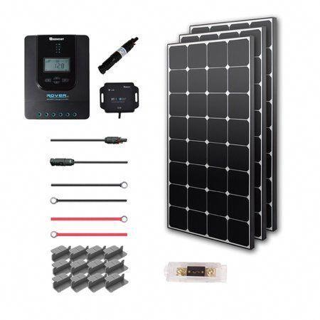 Renogy New 300 Watt 12 Volt Eclipse Solar Premium Kit Solarpanels Solarenergy Solarpower Solargenerator So In 2020 Solar Energy Panels Solar Panels Solar Panel System