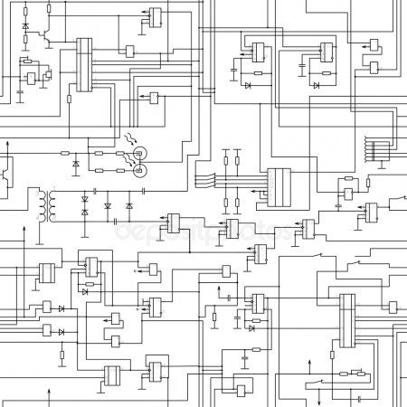side vector circboard wiring diagram seamless electrical circuit diagram pattern stock vector   ad  seamless electrical circuit diagram
