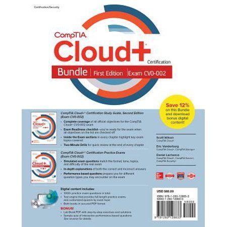 Comptia Cloud Certification Study Guide Books Clouds Practice Exam Ebooks