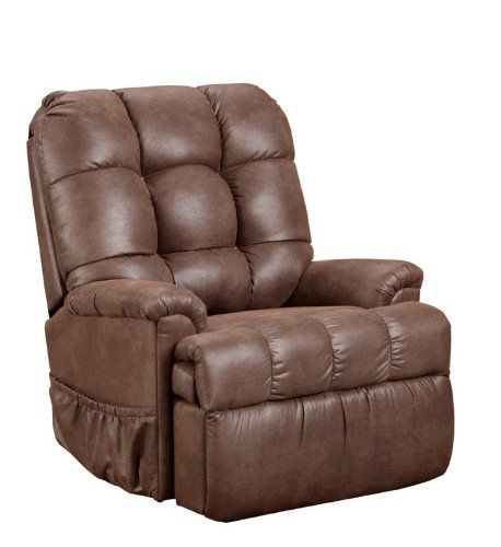 Med Lift 5555 Full Sleeper Lift Chair Stampede Chocolate Fabric Lift Chairs Sectional Sofa With Recliner Comfy Accent Chairs