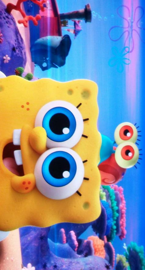 litte Sponge with Gary