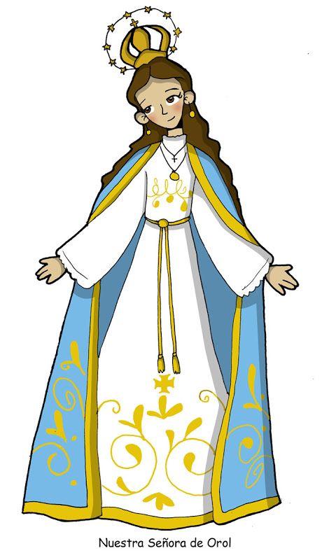 Pin En Virgen María