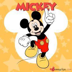 Clip art spotlight: Mickey Mouse