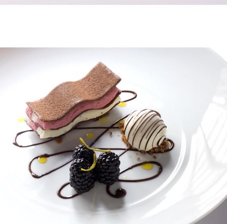 the fat duck restaurant - england. known for their creativity and presentation.