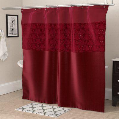 House Of Hampton Riya Single Shower Curtain Curtains Shower