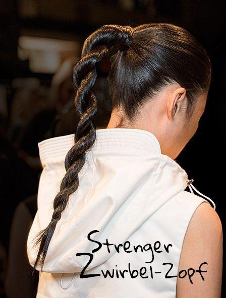 How To Power Braid Strenger Zwirbel Zopf Frisuren Haare Zopfe Zopfe Einfach Haare