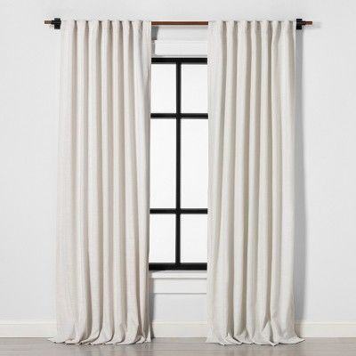 120 Wooden Curtain Rod Natural Hearth Hand With Magnolia Wooden Curtain Rods Panel Curtains Curtains
