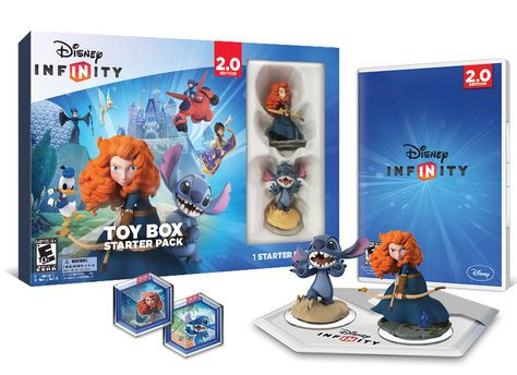 Disney Infinity (2.0 Edition) Toy Box Starter Pack For PS3 - 3850 points