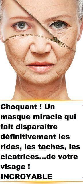 masque anti cicatrice