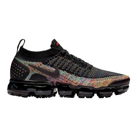 brand new e0741 95804 Nike Women s Air Vapormax Flyknit 2 Running Shoes - Black Racer Pink