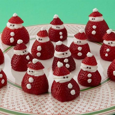 Mini Strawberry Santas Recipe