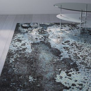 Wade Logan Kaia Abstract Gray Area Rug Area Rugs Rugs
