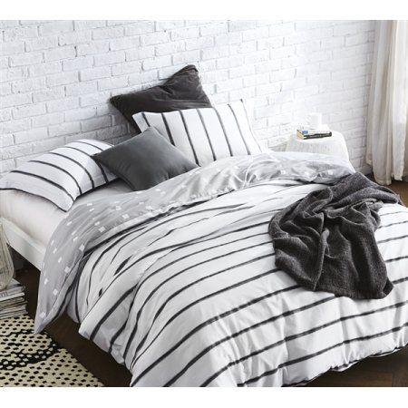 Byb Black Ink Duvet Cover Walmart Com Dorm Bedding Luxury Bedding Duvet Sets