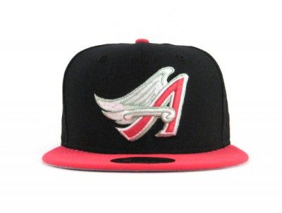 a1e3fb17df7f97 Anaheim Angels 59FIFTY New Era Fitted Hat (AIR FOAMPOSITE PRO PRM YEEZY  GRAY UNDER BRIM)