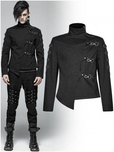Asylum jacket WY-1017/BK Punk Rave