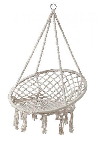 Fotel Wiszący Bujany Huśtawka Krzesło Bujane Hamak