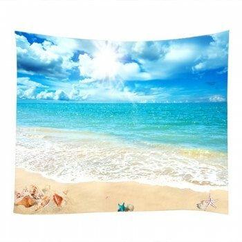 tapestry home decor paradise sea summer ocean beach art wall tapestry